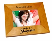 The Godmother Wood Picture Frame