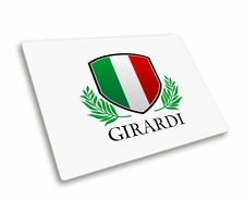 Personalized Italian Flag Mousepad