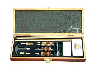 Deluxe 17 Piece Gun Cleaning Kit