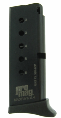 ProMag Ruger LCP .380 ACP 6-Round Magazine