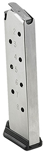 Ruger SR1911 .45 ACP 8 Round Stainless Magazine