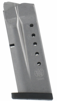 Smith & Wesson M&P Shield 9MM 7 Round Stainless Magazine