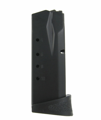 Smith & Wesson M&P Compact 40 S&W/357 Sig 10 Round Magazine W/Finger Rest