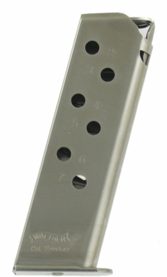 Walther PPK/S 380 ACP Factory 7 Round Magazine