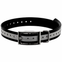 buy discount  1 in. Black Reflective Collar Strap