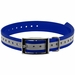 1 in. Blue Reflective Collar Strap