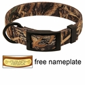 Realtree Max 5 Camo 2-ply Nylon D-End Dog Collar