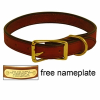buy discount  1 in. K-9 Komfort Deluxe Leather Standard Dog Collar