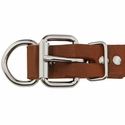 buy discount  1 in. Leather Dee-End Collar Buckle Detail