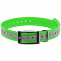 buy discount  1 in. Neon Green Reflective Collar Strap