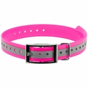 buy discount  1 in. Pink Reflective Collar Strap