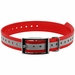 1 in. Red Reflective Collar Strap