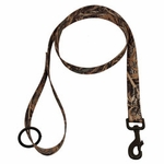 shop Max 5 Camo 4 ft. x 1 in. 1-ply Nylon Leash