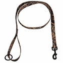 Max 5 Camo 6 ft. x 1 in. 1-ply Nylon Leash