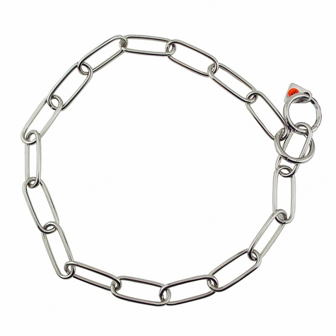"18 in. ""Lite"" Stainless Steel Sprenger Fur Saver Choke Chain #6440"