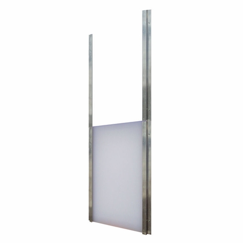 18 in. x 28 in. Guillotine Closure by Gun Dog House Doors