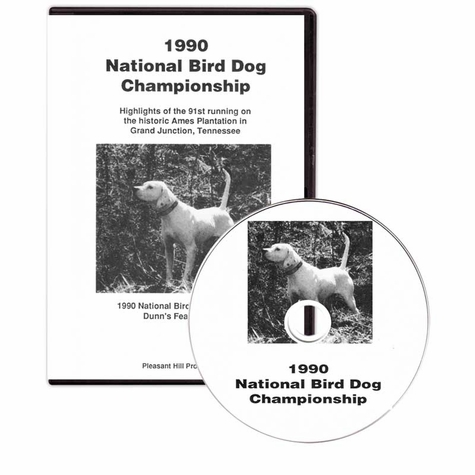 1990 National Bird Dog Championship DVD