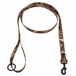shop Blades Camo 6 ft. x 1 in. 1-ply Nylon Leash