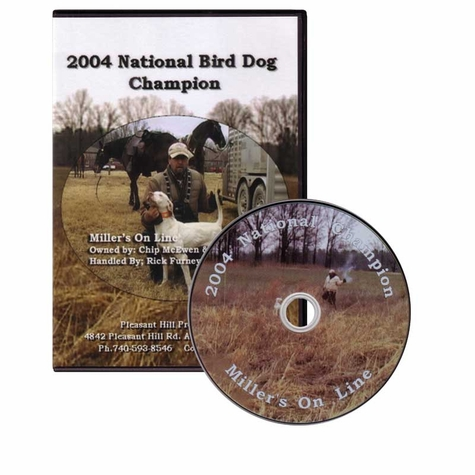 2004 National Bird Dog Championship DVD