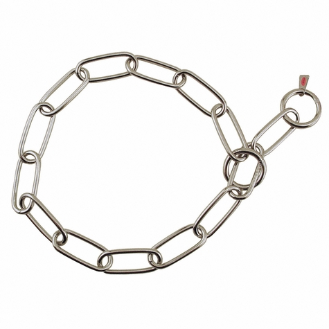 25 in. Stainless Steel Sprenger Fur Saver Choke Chain #6434S