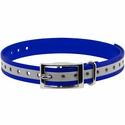 buy discount  3/4 in. Blue Reflective Collar Strap