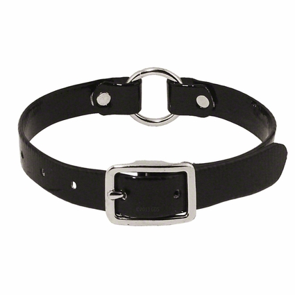 3/4 in. Day Glow Center Ring Puppy / Small Dog Collar -- 12 inch