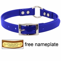 buy discount  3/4 in. Day Glow Center Ring Puppy / Small Dog Collar