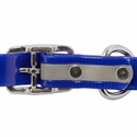 buy discount  3/4 in. K-9 Komfort Reflective Center Ring Puppy Collar Back of Buckle Detail