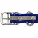 buy discount  3/4 in. K-9 Komfort Reflective Center Ring Puppy Collar Buckle Inside Detail