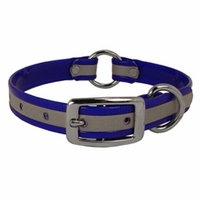 buy discount  CLEARANCE -- 3/4 in. K-9 Komfort Reflective Center Ring Puppy Collar -- 12 inch