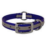 shop CLEARANCE -- K-9 Komfort 3/4 in. Reflective Center Ring Puppy Collar -- 12 inch
