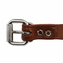 buy discount  3/4 in. Leather Center Ring Puppy/Small Collar Buckle Inside Detail