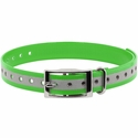 buy discount  3/4 in. Neon Green Reflective Collar Strap