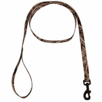 shop Blades Camo 6 ft. x 3/4 in. 1-ply Nylon Leash