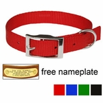 "shop 3/4"" OmniPet Single Ply Stitched Nylon Collar"