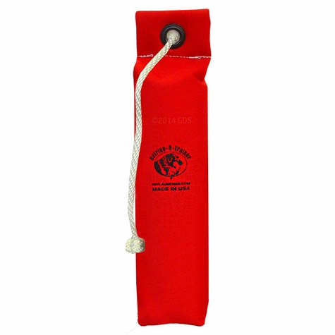 """3"""" Red Weighted Cordura Throw Dummy by RRT"""