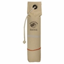 "buy discount  3"" White Weighted Canvas Throw Dummy with Feather Strap by RRT"