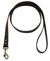 5 ft. Leather Dog Snap Lead by Filson