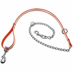 shop 5 ft. Reflective Tree Tie Lead with Chain by K-9 Komfort