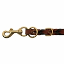 buy discount  9-Way Leather Lead Hardware End Detail