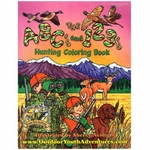 shop ABC's and 123's Hunting Coloring Book