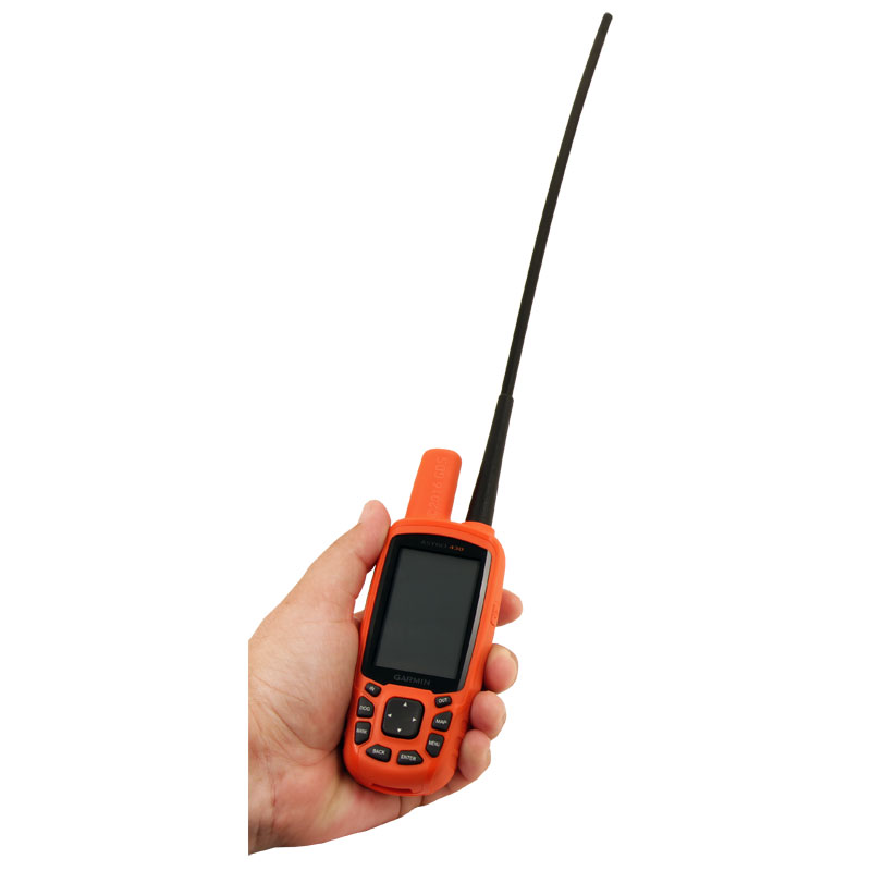 Astro 430 in Hand with Long Range Antenna