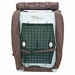 Bedford Kennel Cover Front Flap Open