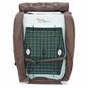 buy discount  Bedford Kennel Cover Front Flap Open
