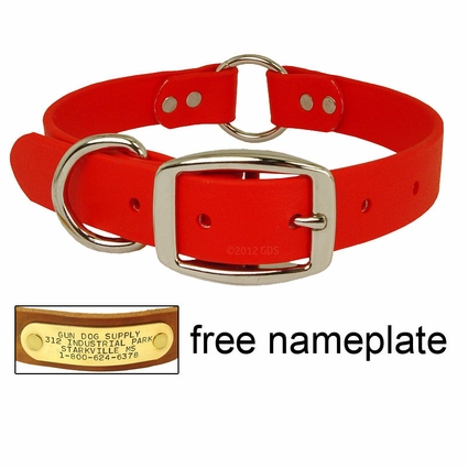 "BEST-SELLER: Tufflex Center-Ring Dog Collar (1"" Wide)"