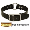 buy discount  BLACK 1 in. Day Glow Center Ring Collar