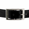 buy discount  BLACK 1 in. Day Glow Center Ring Collar Buckle Front