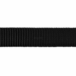 shop Black Nylon Dog Collar Stitching Detail