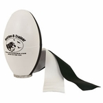 shop Black and White Plastic Launcher Dummy with Streamers by Retriev-R-Trainer