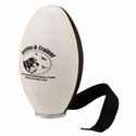 Black and White Plastic Launcher Dummy with Tail by Retriev-R-Trainer